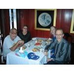 Ha Long Bay cruise_dining with Mohamad and Linda