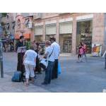music on Ben Yehuda Street