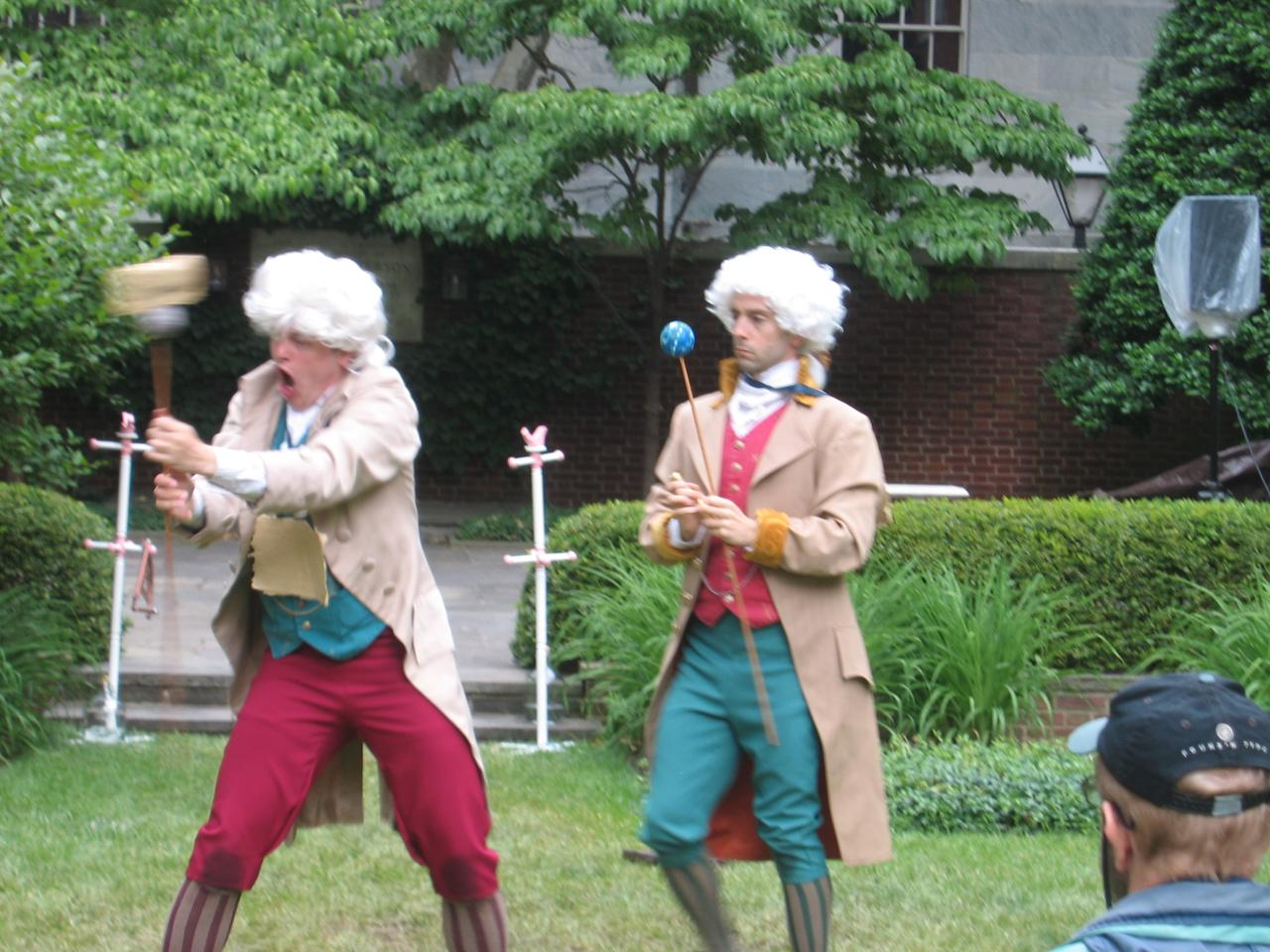 The Astronomer Collapses (play about David Rittenhouse) 2