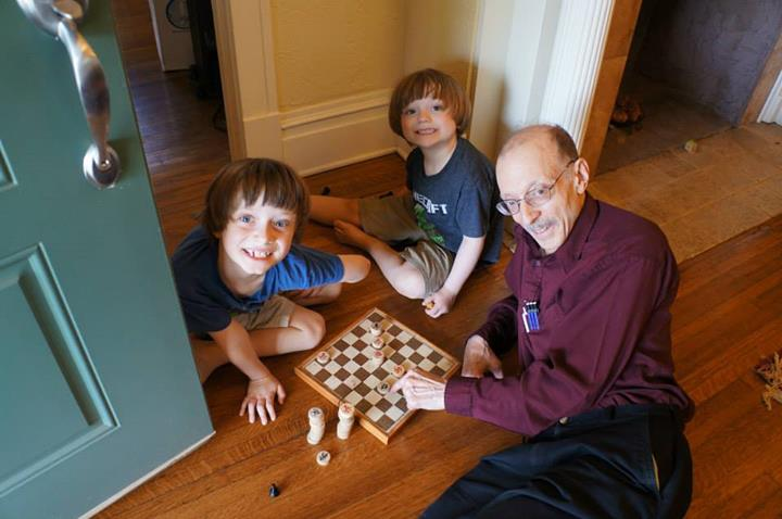 checkers lesson (April 2014)