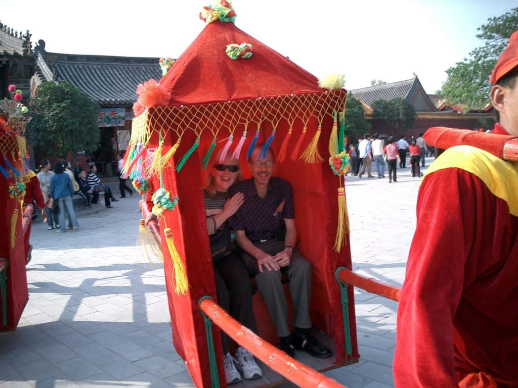 (Simulated) Old-Fashioned Wedding in Kaifeng