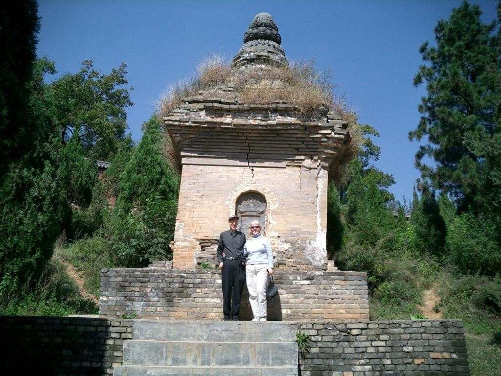 Old Pagoda in Luoyan